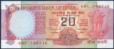 Reserve Bank Of India : 20 Rupees (1987-1996)