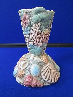 Beswick Ware Collectable 1960`s Shell Vase By Albert Hallam Pattern No 2020