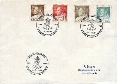 Greenland - Special Events, People, Views, & Anniversaries (4no. FDC's) 1957-81