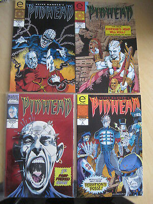 CLIVE BARKER'S Pinhead :COMPLETE RUN 1,2,3,4. HELLRAISER.1994 Marvel/EPIC SERIES