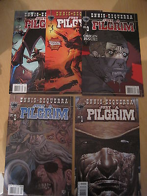 JUST A PILGRIM : COMPLETE 5 ISSUE SERIES by ENNIS & EZQUERRA. BLACK BULL. 2001