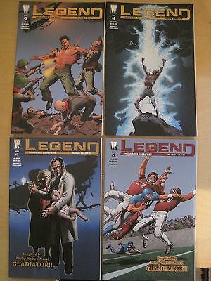 LEGEND : COMPLETE 4 ISSUE SERIES by HOWARD CHAYKIN & RUSS HEATH. WILDSTORM. 2005