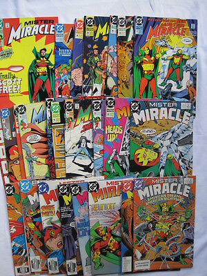 MISTER MIRACLE : COMPLETE CLASSIC 28 ISSUE DC 1989 SERIES by DeMATTEIS & MOENCH