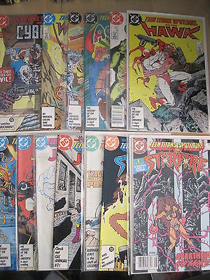 TEEN TITANS SPOTLIGHT : COMPLETE 21 ISSUE DC 1986 series by WOLFMAN etc. CYBORG