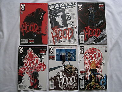 The HOOD :COMPLETE 6 ISSUE EXPLICIT SERIES by VAUGHAN & HOTZ. MARVEL MAX. 2002