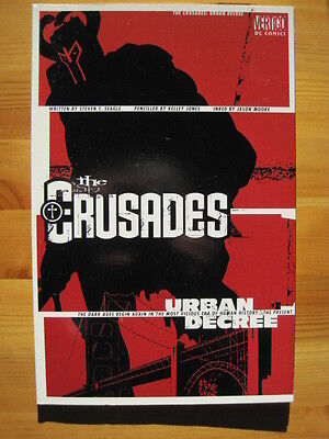 THE CRUSADES : URBAN DECREE by SEAGLE & KELLEY JONES.Graphic Novel. VERTIGO.2001