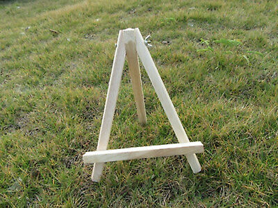 1X New Mini Wooden Table Top Professional Easel 23cm High