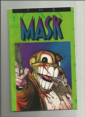 The Mask 1 VFN/NM 1991 scarce Dark Horse Comics US comics