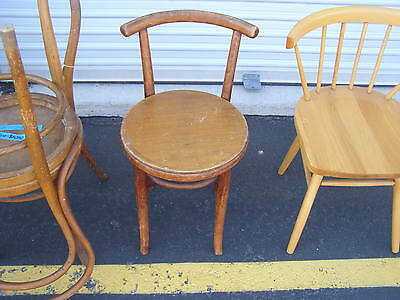 Original Thonet With Tag Chair Early 20Th Century Modernist Bentwood