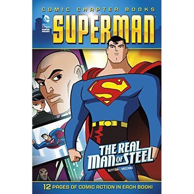 Superman: The Real Man of Steel (DC Comic Chapter Books - Paperback NEW Scott E.