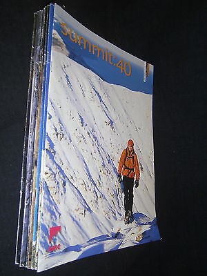 8 Selection Of The Summit Magazine : 40-50: British Mountaineering Council Bmc