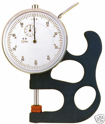 0-0.5 Inch Dial Thickness Gage Graduation .001 New