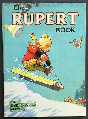 Rupert Annual 1956..original..not Inscribed Or Clipped...paint Contest Untouched
