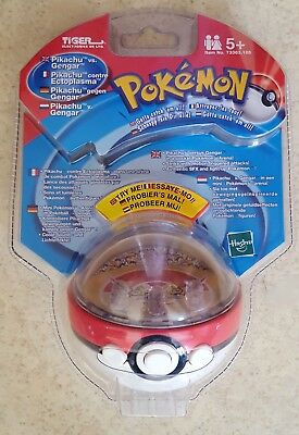 POKEMON/Hasbro - Pikachu/Ectoplasma - POKEBALL électronique - Tiger 2000