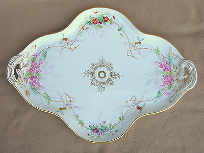 Antique Russian Imperial Porcelain Brothers Kornilov Big Dressing Table Tray