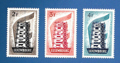 LUXEMBOURG  EUROPA 1956** MNH  800 €     Parfait/perfect/luxe