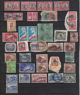 S.Africa selection all with T.P.O / Rail / Mobile P.O - Paquebot cancels.