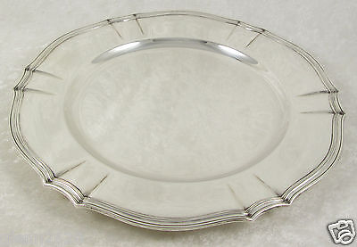 Tiffany & Co Sterling Silver Plate Charger Dish 582g 11 inch 17803 No Monogram