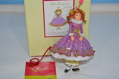 Krinkles by Patience Brewster Department 56 Clara Christmas Ornament  56.39317