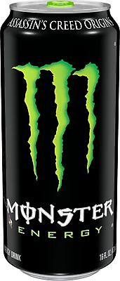 Monster Energy, Original, 16 Ounce (Pack of 24)