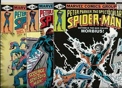 Marvel Comics  Spectacular Spider-Man  Lot of 3  issues # 38 39 40