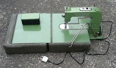 Elna #1 Grashüpfer Grasshopper Nähmaschine Sewing Machine S/N 1410961