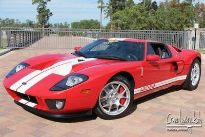 2006 Ford Ford GT Base Coupe 2-Door Ford GT 4 option car 221 miles MSO. Crave Luxury Auto 281-651-2101