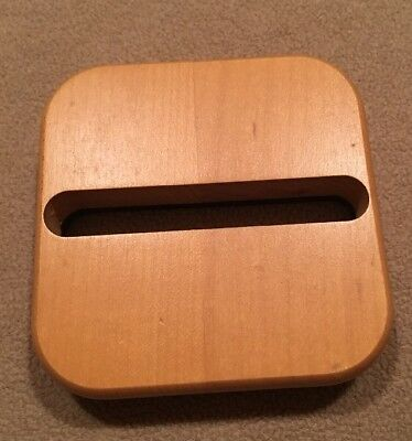 Longaberger Weighted Woodcraft Insert For 'Stuck On You Basket' Post It Notes