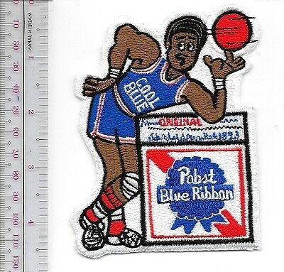 Pabst Blue Ribbon Cool Blue Basketball Star 1970's Promo Milwaukee, Wisconsin
