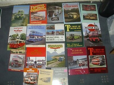 Bus Books A Collection Of 18 Hardback And Paperback Bus Books All Listed