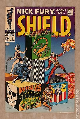 Nick Fury Agent of SHIELD (1st Series) #1 1968 VG 4.0