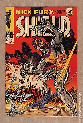 Nick Fury Agent of SHIELD (1st Series) #2 1968 FN+ 6.5