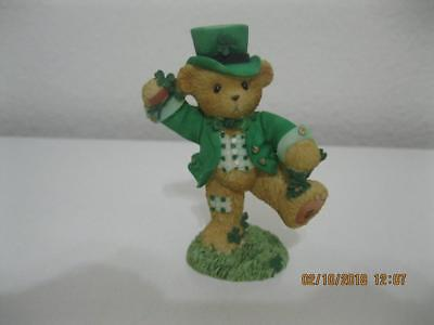 Cherished Teddies Irish Boy Dancing The Jig St. Patrick's Day Bear Figurine