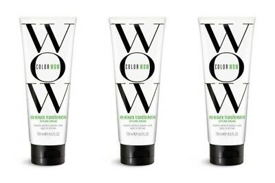 3 Color Wow One Minute Transformation Styling Cream 4 oz Each (229)