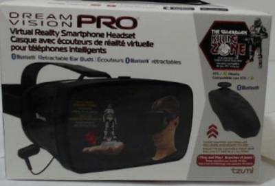 Tzumi 4872B Dream Vision Pro Virtual Reality Headset with Bluetooth