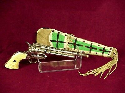 SIOUX Large Crosses BEADED HOLSTER