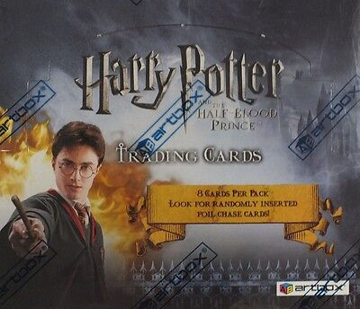 Sealed Artbox Harry Potter And The Half Blood Prince Trading Card Box (24 Packs)