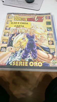 Album Dragon Ball Z Serie Oro Vacio