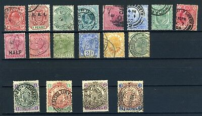 Southern Africa (Natal, Transvaal)early to mid small used selection from 1800's