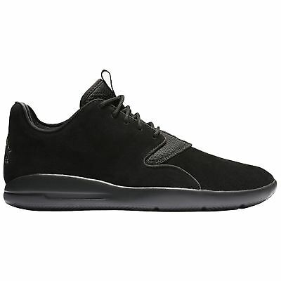 6f279985d01 Nike Jordan Eclipse Black Mens Suede Lace-up Low-tops Sneakers Trainers