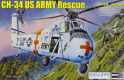 MRC™ 64103 CH-34 US ARMY Rescue Helicopter in 1:48