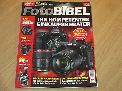 Digital Photo Sonderheft 2018 - Foto Bibel - Ihr Kompetenter Einkaufsberater