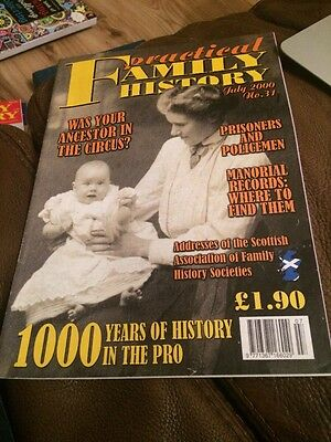 Practical Family History Magazine July 2000