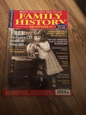 Family History Monthly October 2003