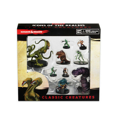 PREORDER D&D Dungeons&Dragons Icons of the Realms Classic Creatures Box Set