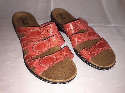 Clarks Collection Womens Sz 9 US 40 EUR Coral Sandals