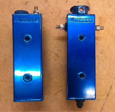 Meziere Coolant Expansion and Recovery Tank Good Condition Race Rally Kit Custom