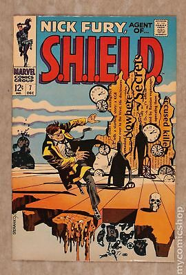 Nick Fury Agent of SHIELD (1st Series) #7 1968 FN+ 6.5