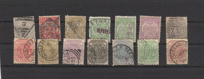 A nice mixed transvaal group of issues with some Nice Postmarks