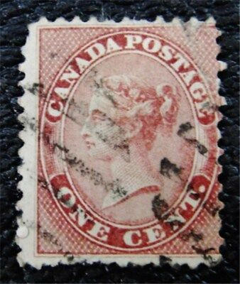 nystamps Canada Stamp # 14 Used $90